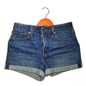 Levi's High-Rise Short Shorts